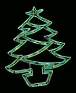 China manufacturer  cheap christmas tree plastic frame light bulb lamp  factory