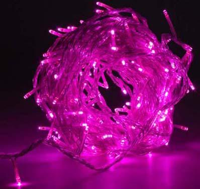 Paars 144 Zeer Helder Led String Lights Multifunctionele Helder
